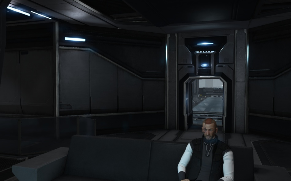 The new (for me anyway) Captain's Quarters.  Err, nice I guess.